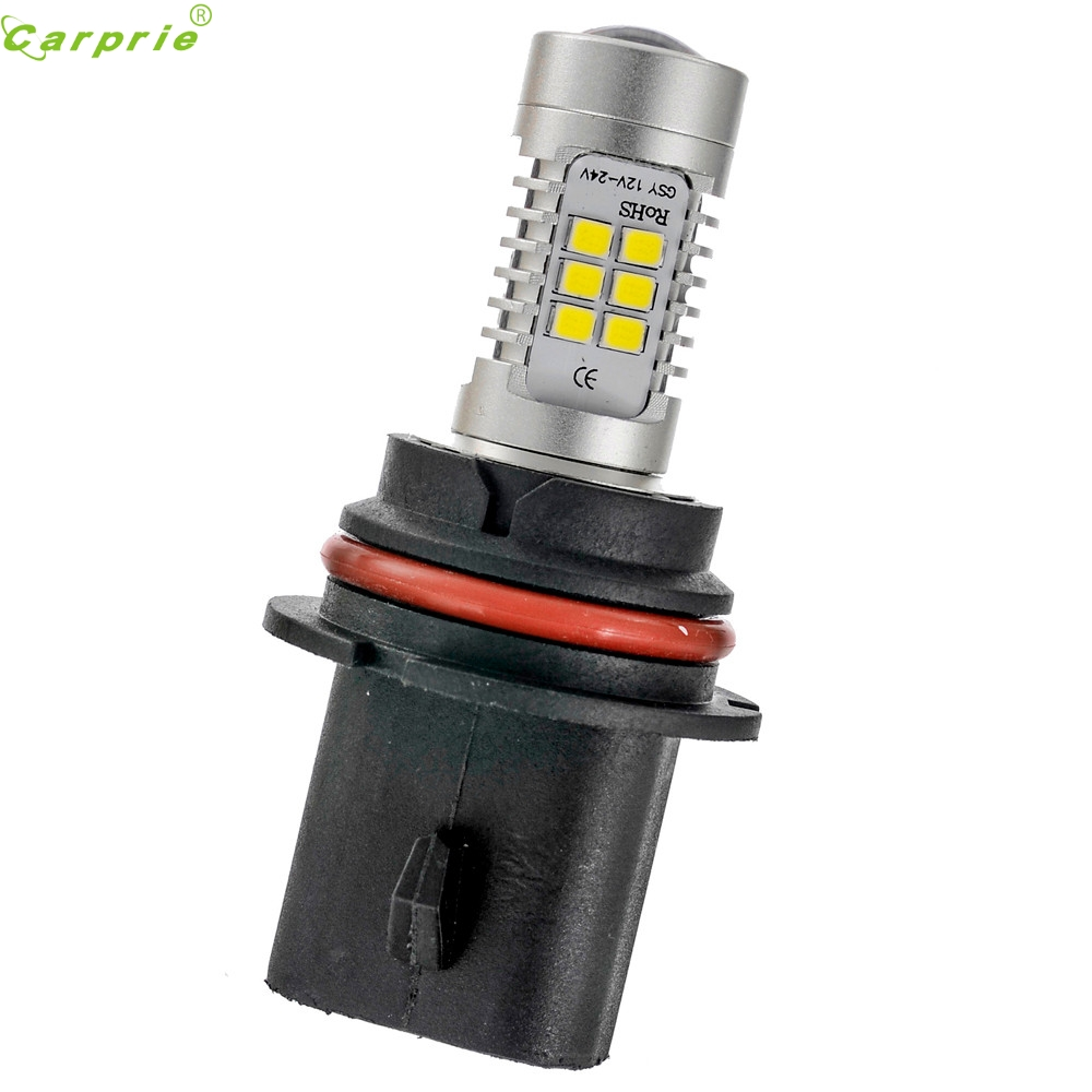 AUTO 2PC 21W 2835 21SMD 9007 Auto Daytime Running head Light car styling Bulb fog Bulb