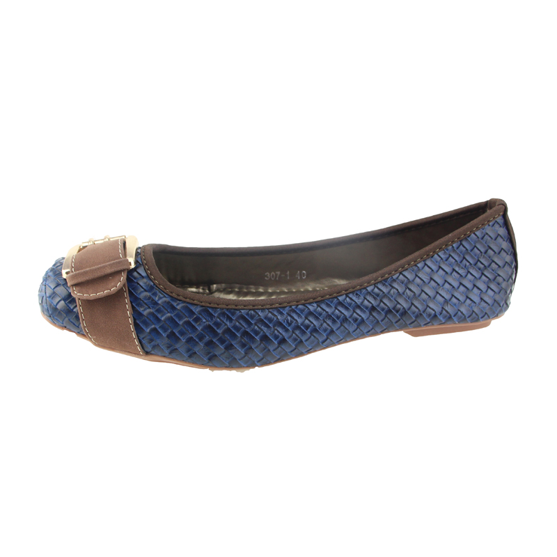Image 5 - BEYARNE new arrival hasp knitted women single shoes square toe ballet flats soft bottom fashion work shoes woman flat moccasinsmoccasins fashionsquare toe ballet flatssingle shoes -