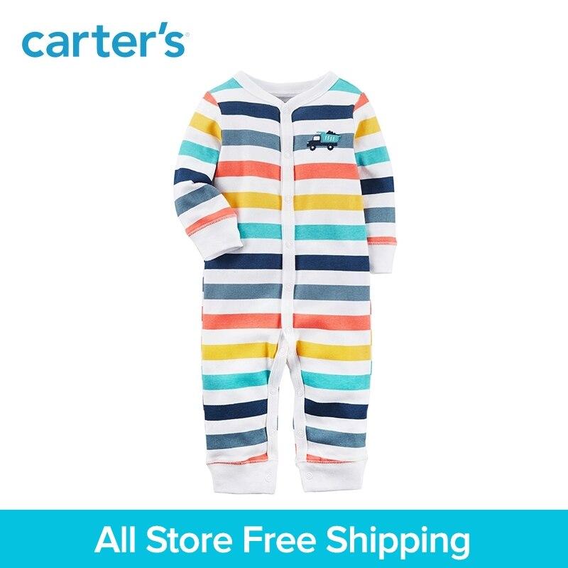 1-Pièce de Carter bébé enfants enfants vêtements Garçon Printemps et Automne Snap-Up Coton Sommeil & Play 115G476
