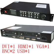 Rental LED Display Screen Video Processor KYSATR KS600 Full color  1024*768 1920*1200  Support 2 sent cards DVI VGA HDMI  CVBS