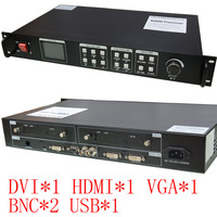 KYSATR KS600 LED Video Processor Scaler 1024 768 1920 1200 Support 2 Sent Cards DVI VGA