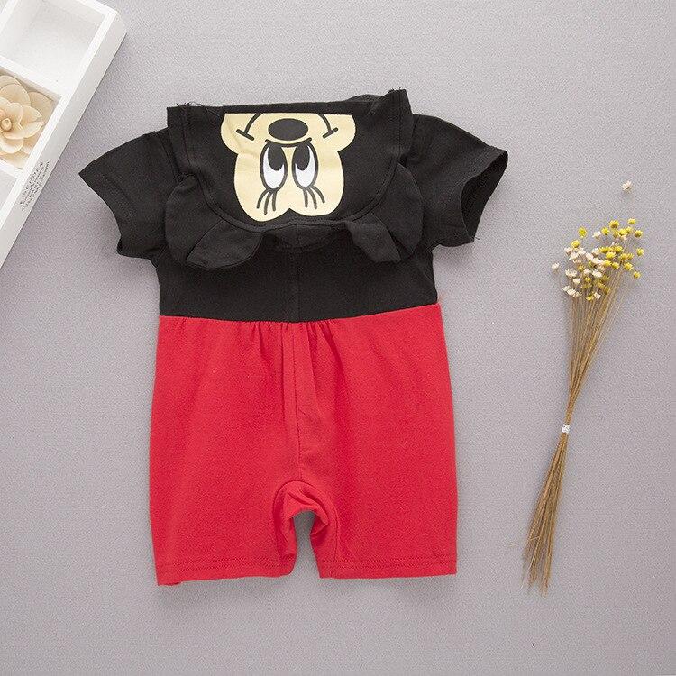 manga curta com capuz macacão menino traje