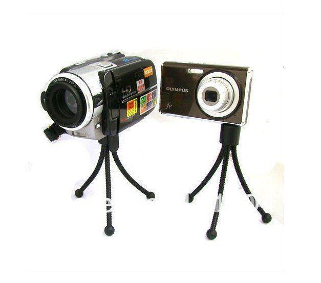 New Mini Universal Tripod Stand mini metal tripod for Digital Camera Webcam