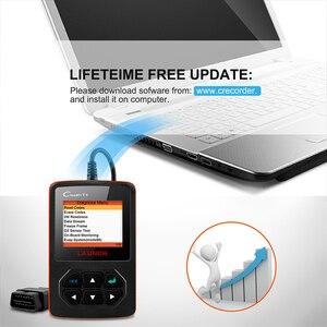 Image 5 - Launch X431 Creader V+OBD OBD2 skaner samochodowy, czytnik kodów błędu, wielojęzyczne menu, narzędzie diagnostyczne auta, auto skanowanie