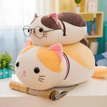 Hot Sale Lovely Cat Plush Toy Stuffed Animal Doll Soft Pillow Best Gift Send To Children & Friend