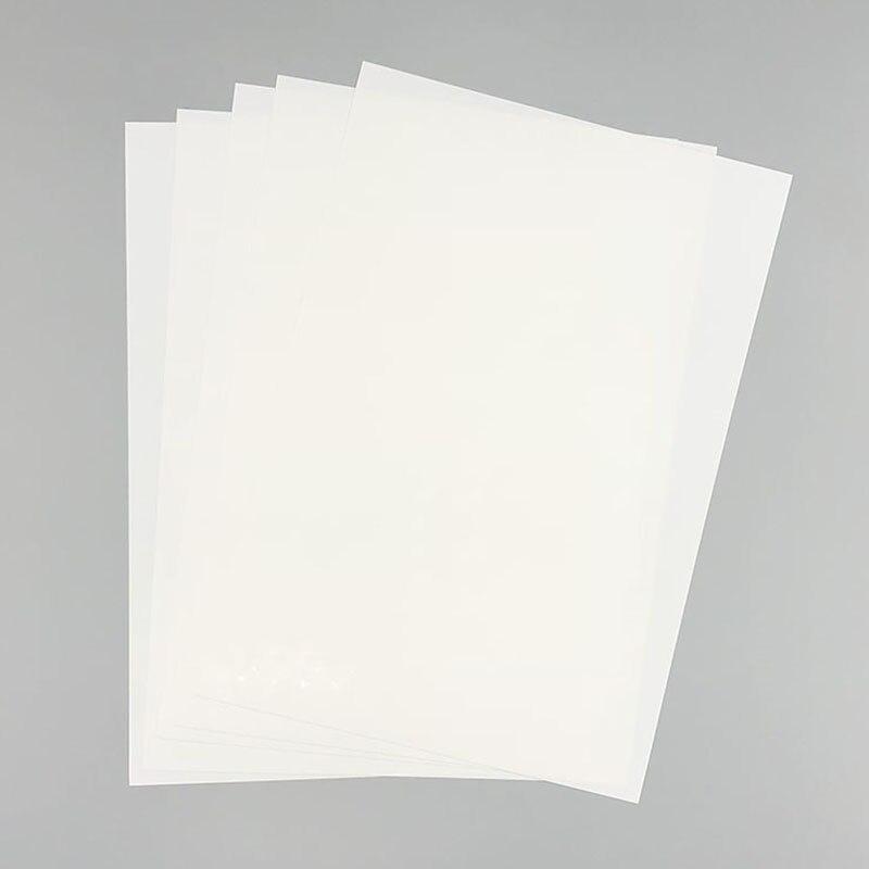 5 Pcs/Set Color Heat Shrink Sheet Plastic Magic Paper Sheet For Educational DIY Crafts TN99