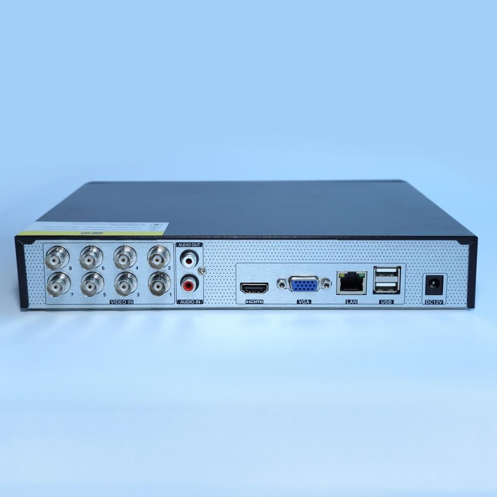 TVT TD-2108TS-CL Superlive Pro App TVI CVI and AHD 8Ch Recoder