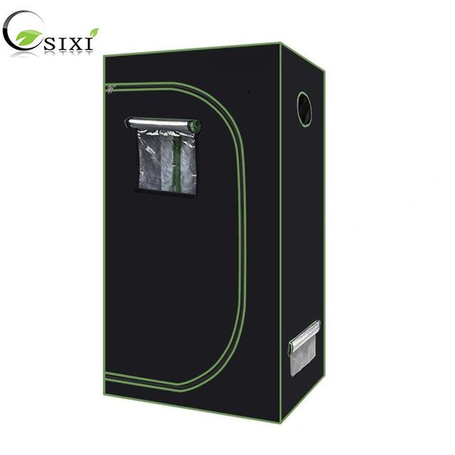 Plant Tent 600D Grow Tent Indoor Grow box 60*60*140cm hydroponic Grow room greenhouse plant lighting Tents