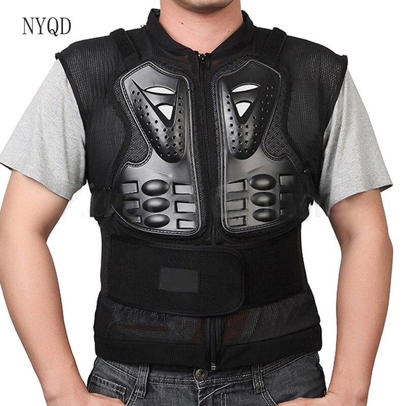 Lauko motociklų striukė Motorcross Racing krūtinės nugaros apsauginė pavara Motocross Racing kūno apsauga Armor Jacket Sport Guard
