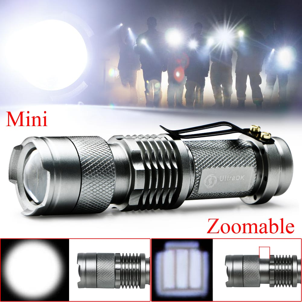 NEW Adjustable Focus Zoom In/Out CREE Q5 LED 2000 Lumens ...
