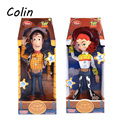 Toy Story 3 Action Figure Talking Toys PVC Figure Woody Jessie Buzz Lightyear Model Toy For Gift WJ387