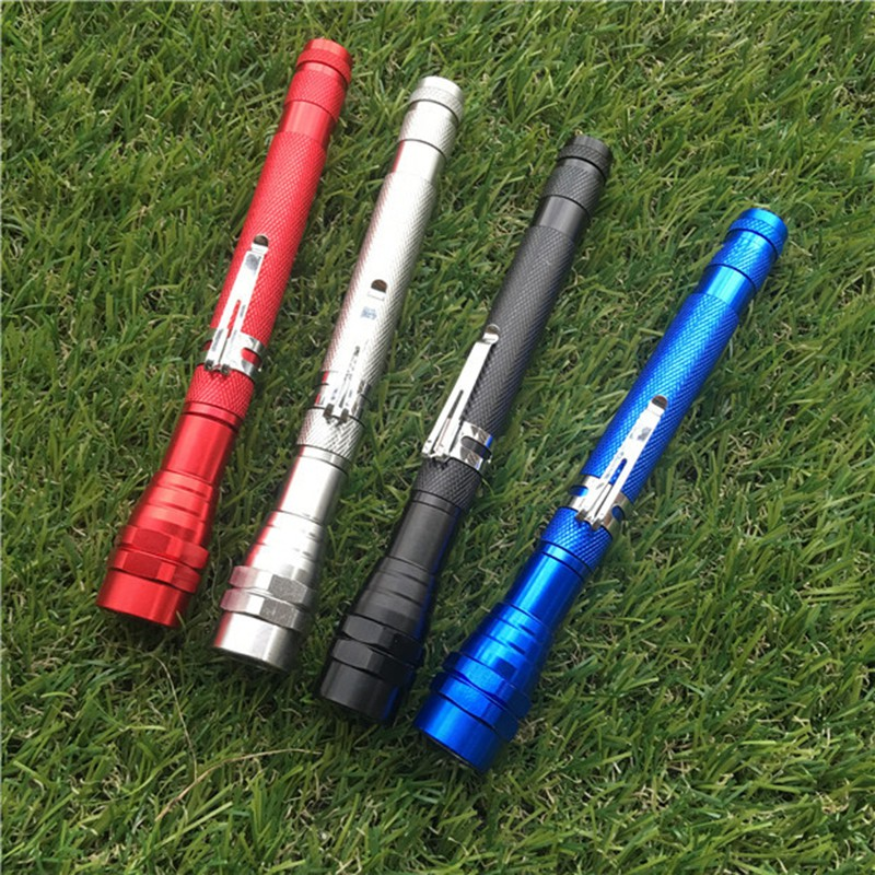 New Extension-type LED Flashlight Torch Lamp Home Tool 360 Degree Flexible Flashlight Camping Torch Lamp Lanterna Pick Up Tools