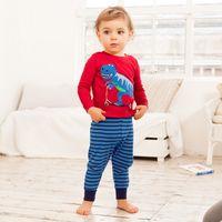 New Dinosaur Pajamas Set Children Pajama For Girls 1-6 Years Girls Sleepwear Baby Pyjama Set Toddler Boys Girls Clothing Set