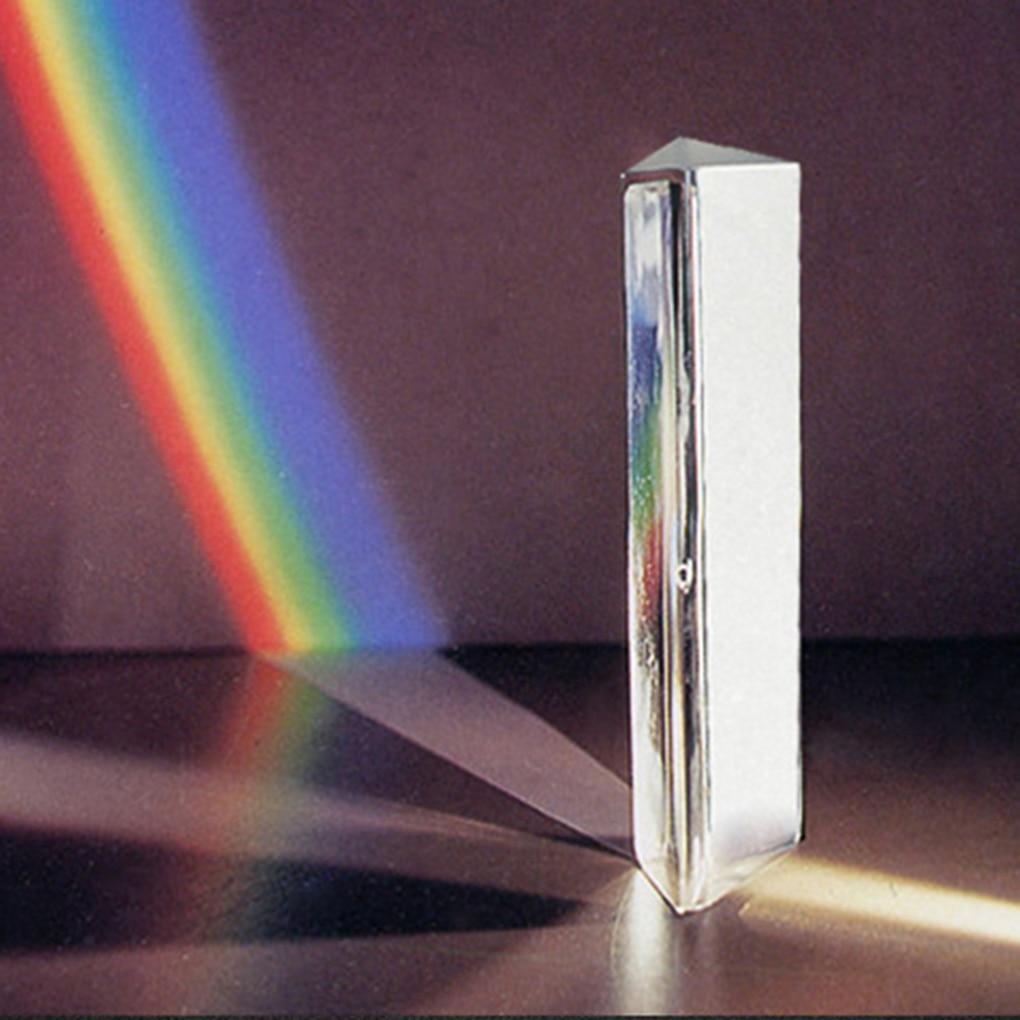 ensino espectro de luz cor prisma 50*30*30*30mm
