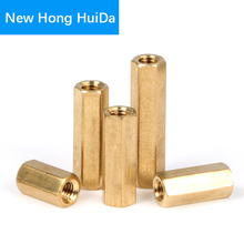 M4 Hex Brass Female Female Standoff Stud Board Mount Hexagon Threaded Pillar PCB Motherboard Spacer Hollow Bolt Screw Long Nut m2 hex brass male female standoff pillar board stud metric hexagon threaded pcb motherboard spacer hollow bolt screw long nut