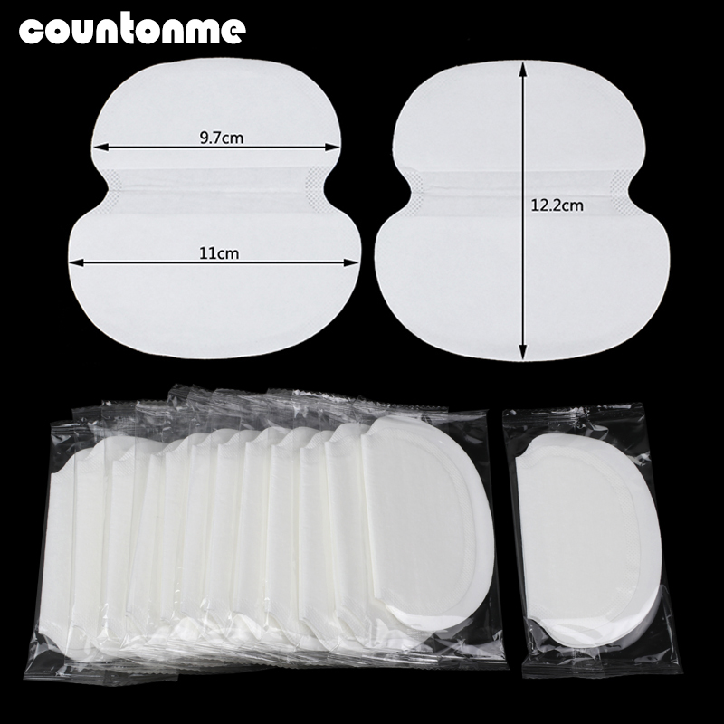 20/30/50Pcs Summer Underarm Sweat Pads Big Disposable Armpits Gasket Sweat Absorbing Pad For Anti Shield Sweat Perspiration Pads