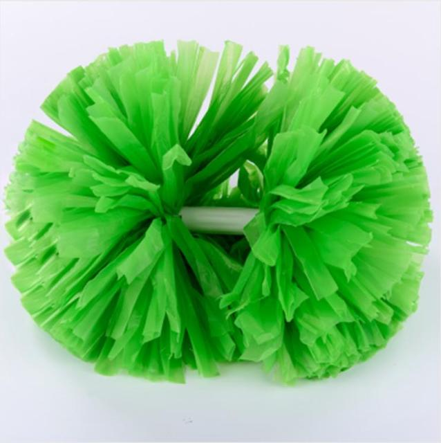 Green Handle Small cheer pom poms 5c64fbbde3f95