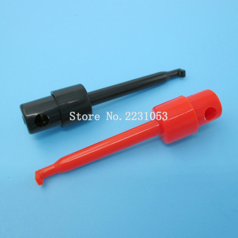300 PCS Test Hook Probes 6 color Grabbers IC PCB SMD SMT Resistor current Cables