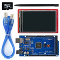 3,2 pulgadas de pantalla TFT LCD Módulo de pantalla táctil de escudo de a bordo de sensor de temperatura + Touch Pen/tarjeta TF/ mega2560 para Arduino