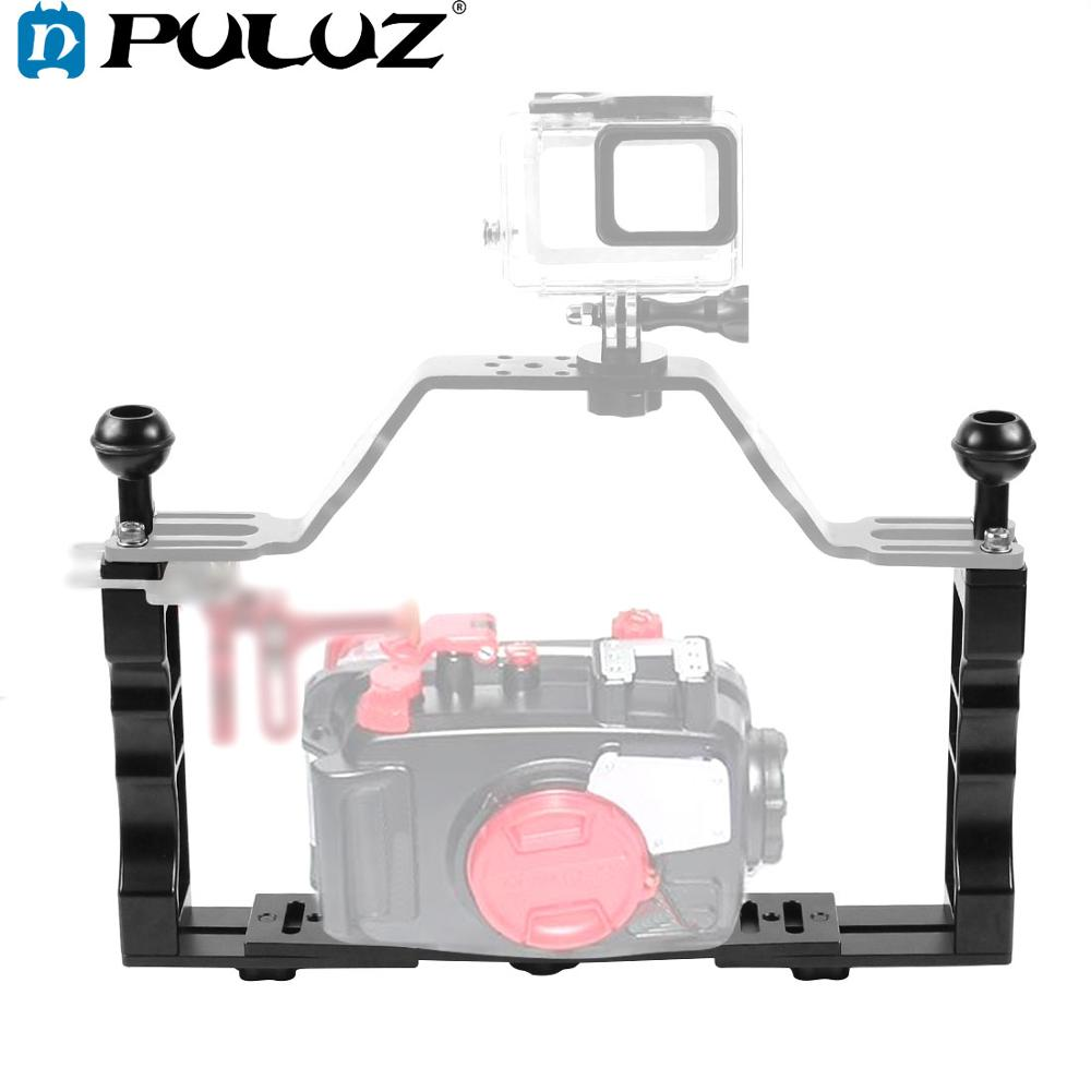Underwater Scuba Gopro Action camera case housing arm tray system