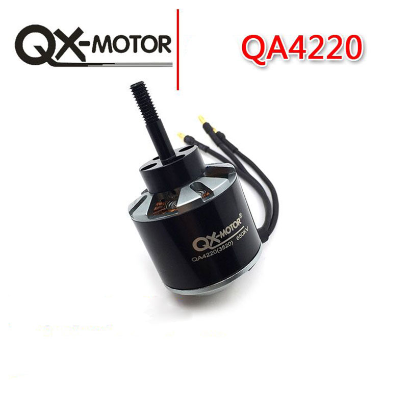 QX-Motor Metal QA4220(3520) 580KV 650KV Brushless Motor For RC Model Quadcopter Accessories Hexacopter Multicopter 4pcs lot dys brushless motor 4215 650kv for rc model quadcopter hexacopter multicopter dys be4215 650kv
