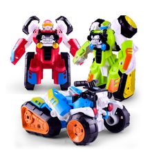 Colorful Robot Transformer Toy