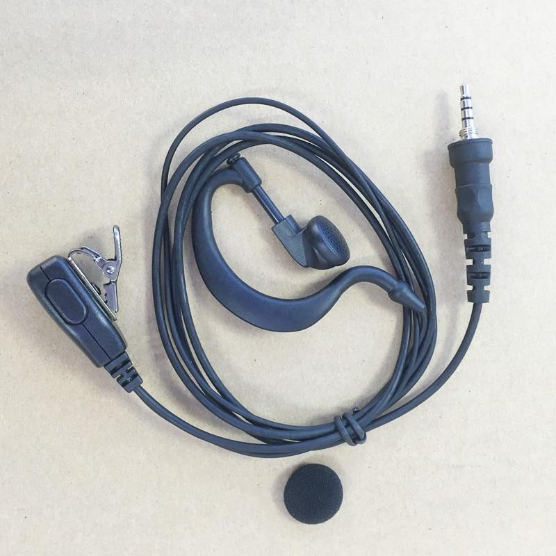 Honghuismart Earphone Headset For YAESU/Vertex Standard VX6R,VX7R,VX170,VX177,VXA700,VX120,VX127,HX471,VX460 Etc Walkie Talkie