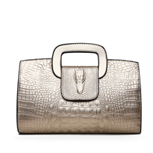 ФОТО tuladuo 2018 high quality women handbags designer alligator tote bag ladies casual shoulder bag for women sac a main femme luxe