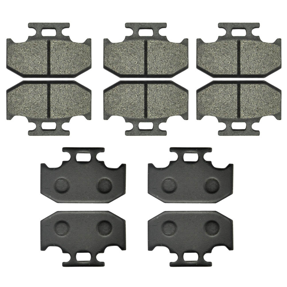 Wholesale 5 Pairs Motorcycle Rear Brake Pads For Kawasaki KDX125 KDX200 KDX250 KLX250 Suzuki DR250 DR350 For YAMAHA DT125 TTR250 motorcycle rear brake pads fit for malaguti madisont 125 250 f18 spidermax rs scarabeo300 password250 r125 phantommax