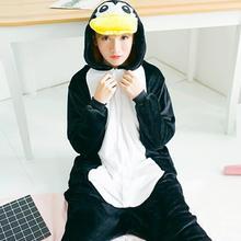 b6d23c47c22 new hot adults penguin pajama one piece sleepwear pijama cartoon animal  pajamas women girls boys unsex unicorn Christmas