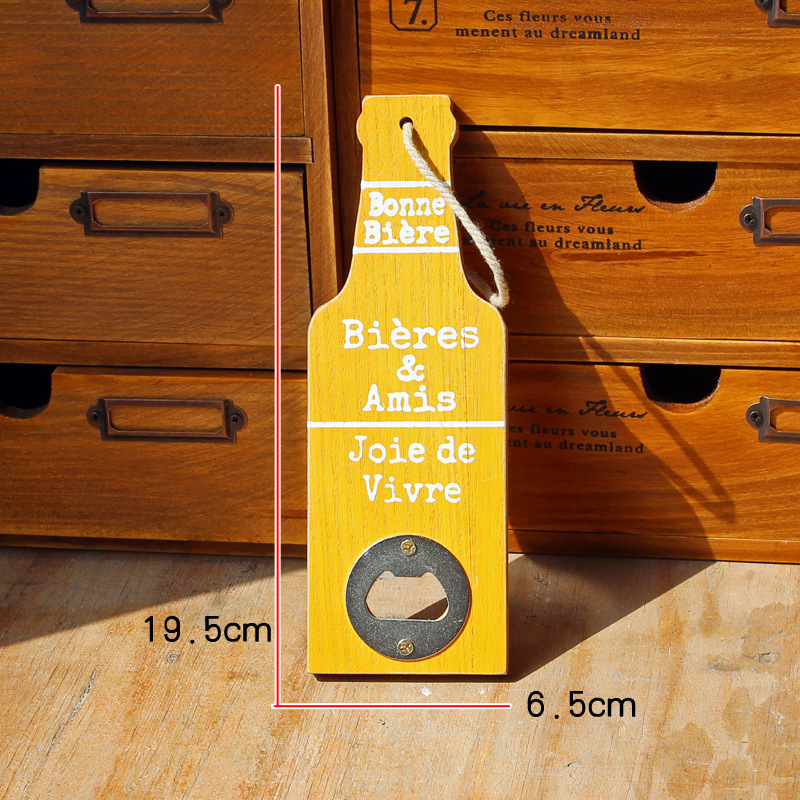 Europe Type Beer Opener Wall Mounted Classic Style Cafe Bar Bottle ...