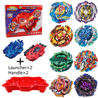 8pcs/set Beyblade Bayblade Red Gyroscope Disk Burst Toys Arena Sale Gyro Disk Bursting Gyroscope Bey Blade Top for Children