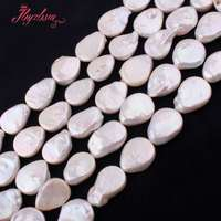 Natural Freshwater Pearl Beads Drop Gem Stone Strand 14 5 12x16 13x18mm For DIY Necklace Bracelets