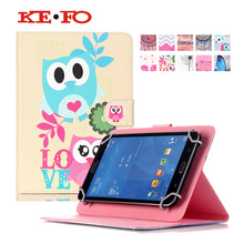 [Print] PU Leather case Cover For Odys Junior Tab 8 Pro 8″ Universal Tablet Stand cases For Toshiba Encore 2 WT8-B-102