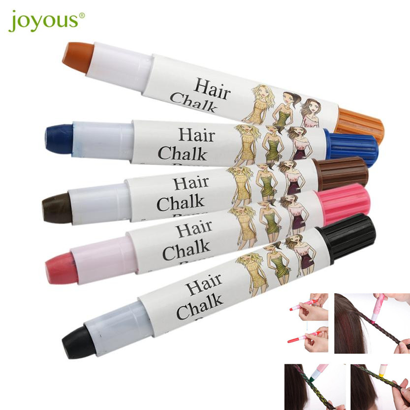 Us 1 69 27 Off Joyous 2018 Temporary Hair Color One Time Wax Cover Hair Highlights Gradient Pen Cover White Hair Pen Hair Styling Dropshipping In
