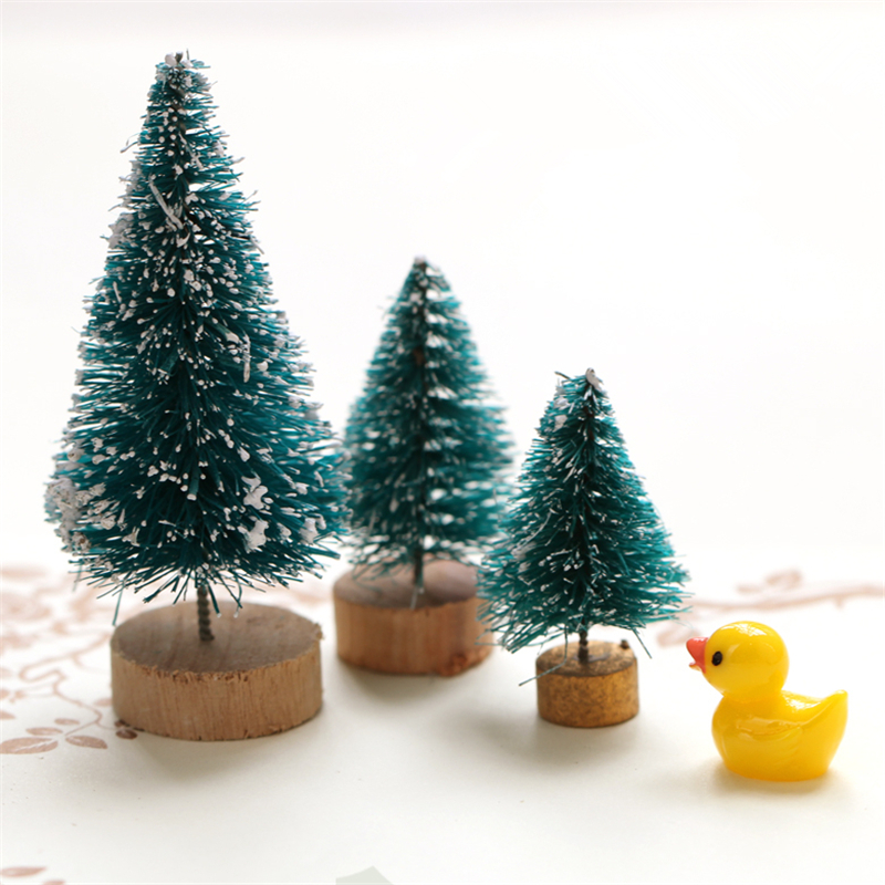 Online buy wholesale glass christmas ornaments crafts from for Miniature christmas trees for crafts