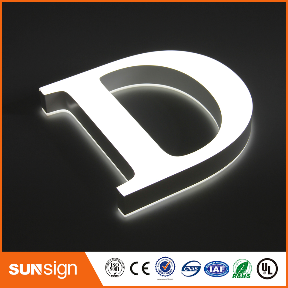 Custom Illuminated Sign Letters Neon Store Signs Custom Sign Lettering