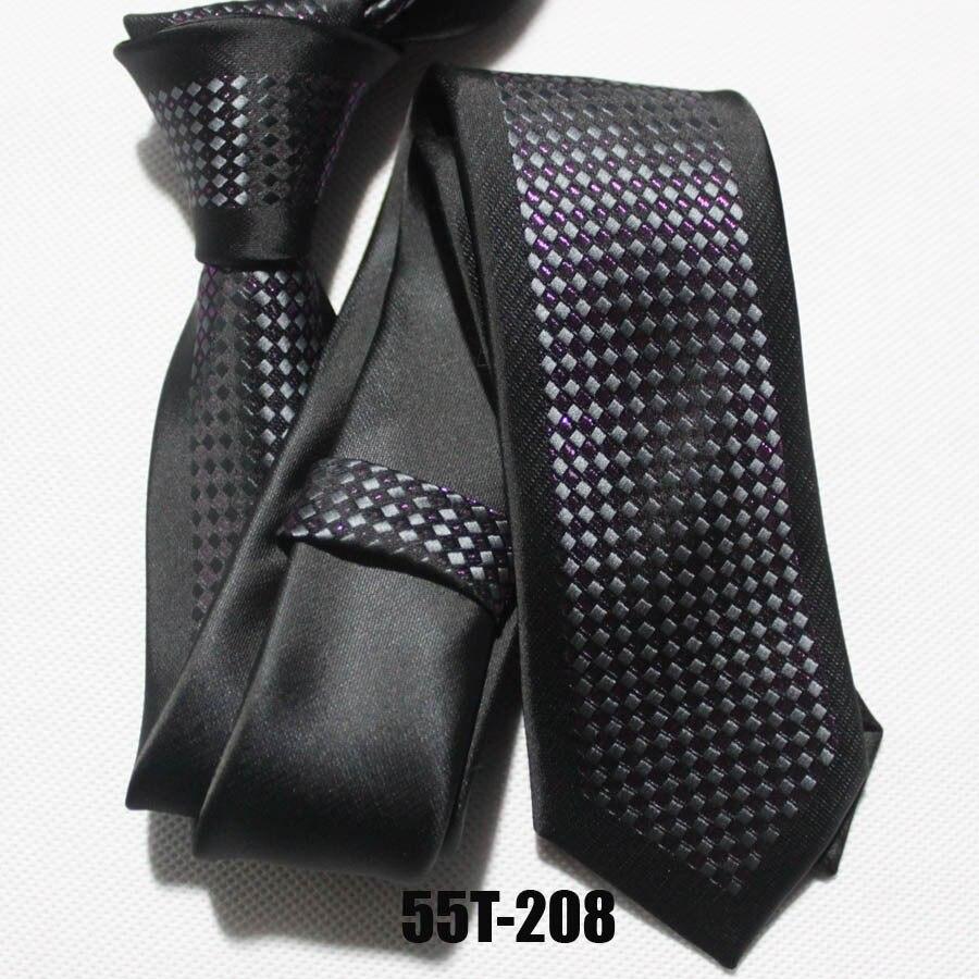 Черный с пурпурным и серебряными сетками модный галстук под заказ