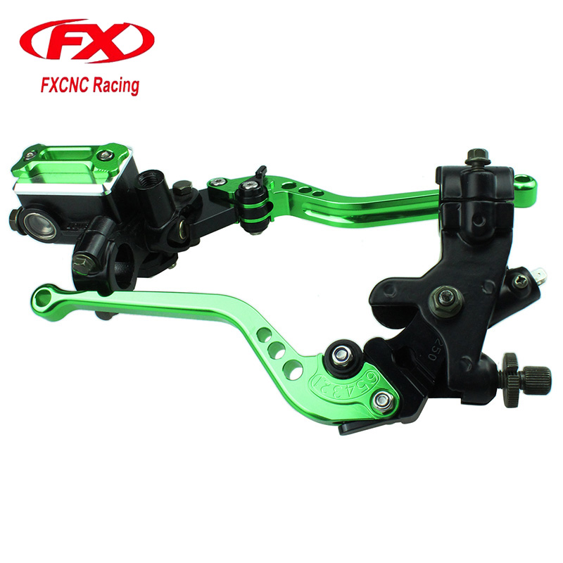 For KAWASAKI NINJA 300R 250R 250 Master Cylinder Reservoir Hydraulic Brake Cable Clutch Levers For Motorcycle Brake Clutch Lever 7 8 22mm universal motorcycle hydraulic brake master cylinder clutch reservoir levers set for kawasaki ninja 250 300 z900 z650