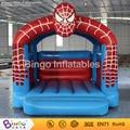 Ventas calientes spiderman casa de brinco inflables juguetes de PVC de alta calidad/gorila inflable 4x4x4 m BG-G0033 juguete