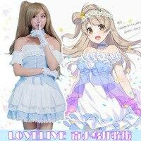 LoveLive! Kotori Minami SJ Cosplay Lolita Dresses Anime Tube Dress Halloween Carnival Costumes 4PCS Set Lolita Dress Sets