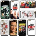 TV Series The Big Bang Theory cell phone bags case cover for iphone 4S 5S 5C SE 6S 7 PLUS Samsung galaxy S7 NOTE IPOD Touch 4 5