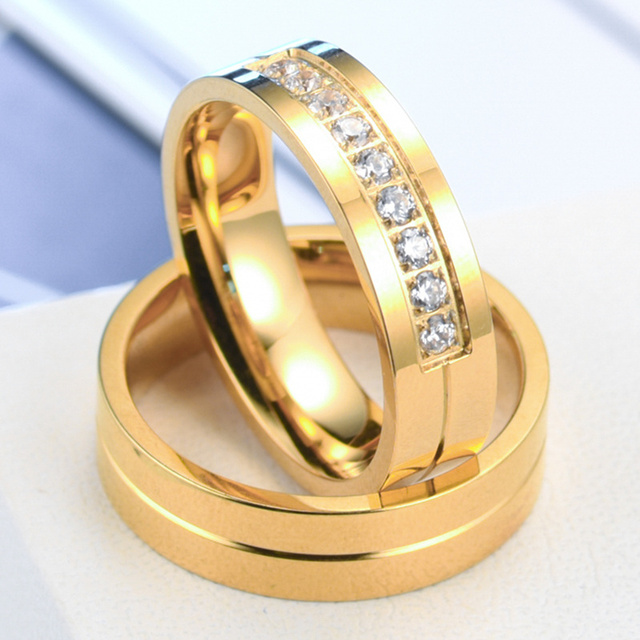 hot gold rhinestone for wave bands color wedding lover cz yellow sale item