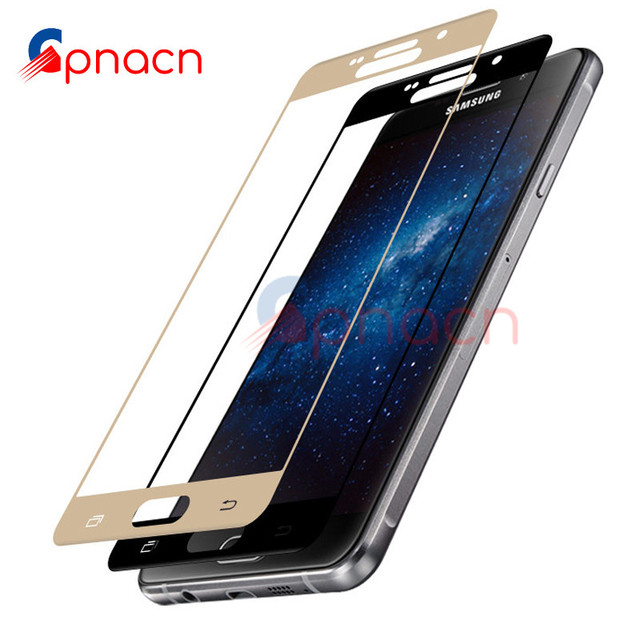 GPNACN Full Cover Tempered Glass For Samsung Galaxy A3 A5 A7 2016 2017 Screen Protector For Samsung J3 J5 J7 Protective Glass Phone Screen Protectors