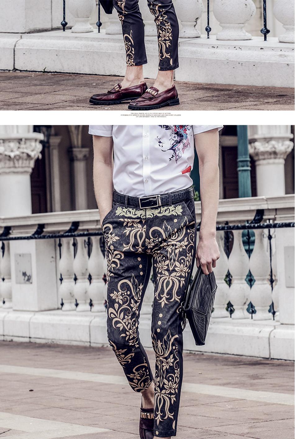 03f493b6a FANZHUAN destacados marcas Ropa verano hombres pantalones hasta el ...
