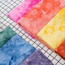 Tela de rayón de algodón Bandhnu para costura, tejido de diseñador con sensación de colgante, 50x14 0cm/Unid TJ0200