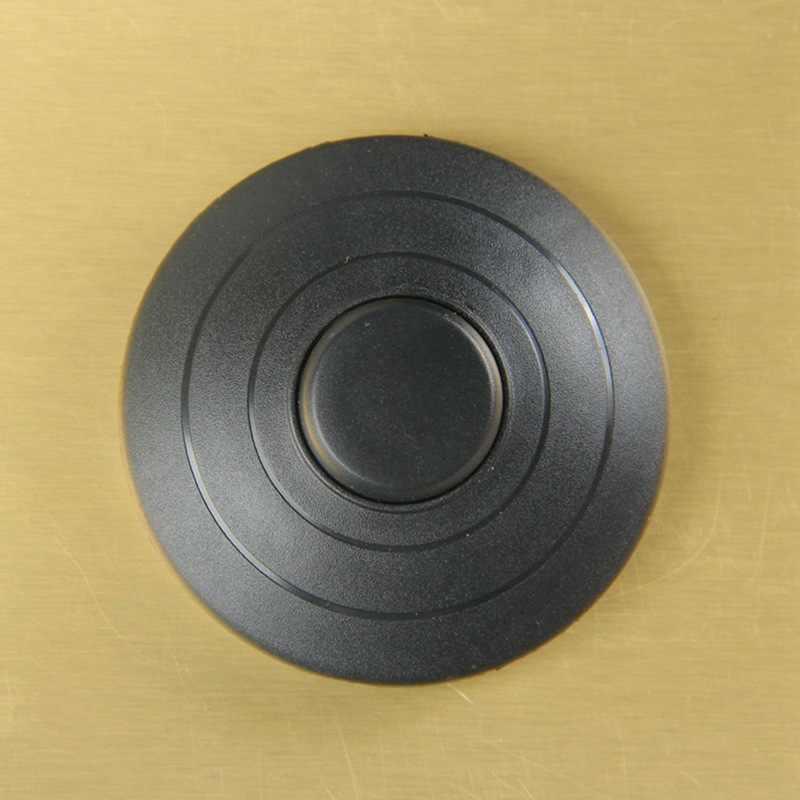 1 stuks Zwart In-lijn Lamp Voetschakelaar Push Power Pedaal Light Voetschakelaar