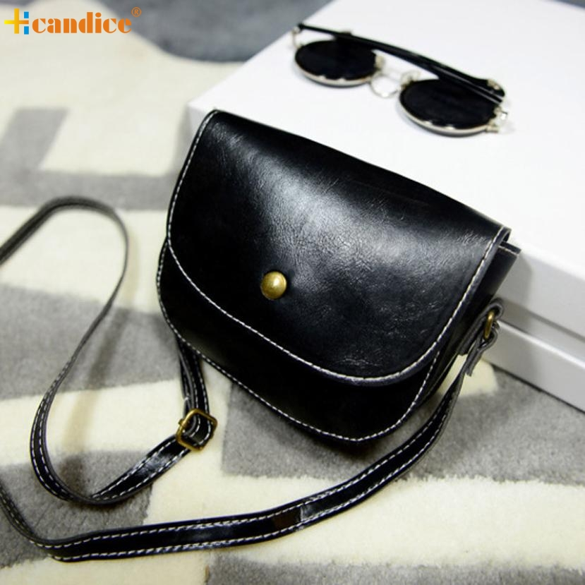 Naivety New Mini Retro Women Messenger Handbag Lady PU Leather Crossbody Shoulder Bag 29S61124 drop shipping retro lady s pu hand one shoulder bag w strap black