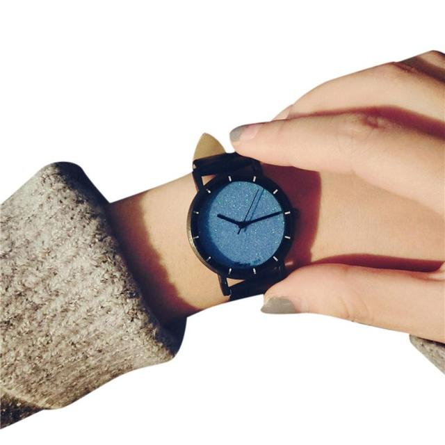 2017 NEW Students Minimalist Trend Temperament Small Dial Couple Watches Art L71