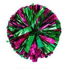 Green Rose Small cheer pom poms 5c64fbbde3eae